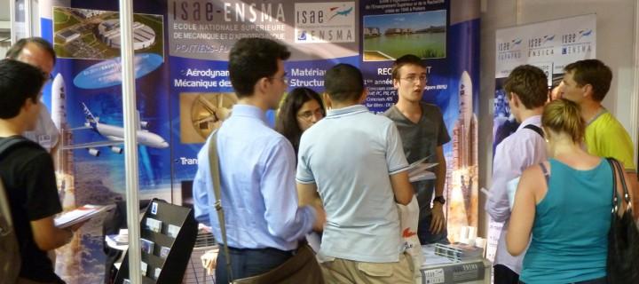 L'ISAE-ENSMA aux salons d'orientation de l'Etudiant
