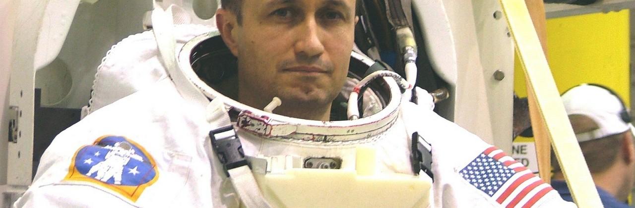 H. Stevenin (promo 1985) en mission à la NASA
