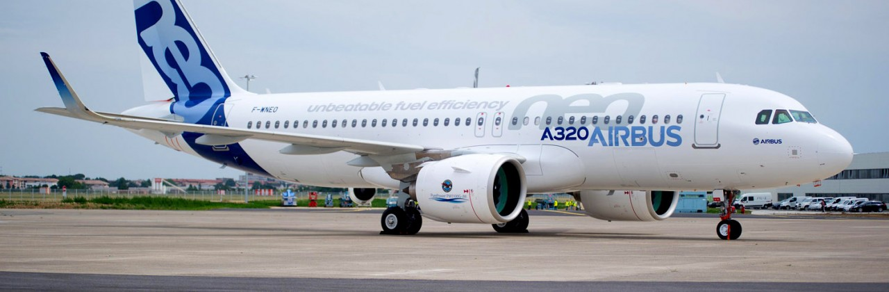 ENSMA engineer aboard the A320neo