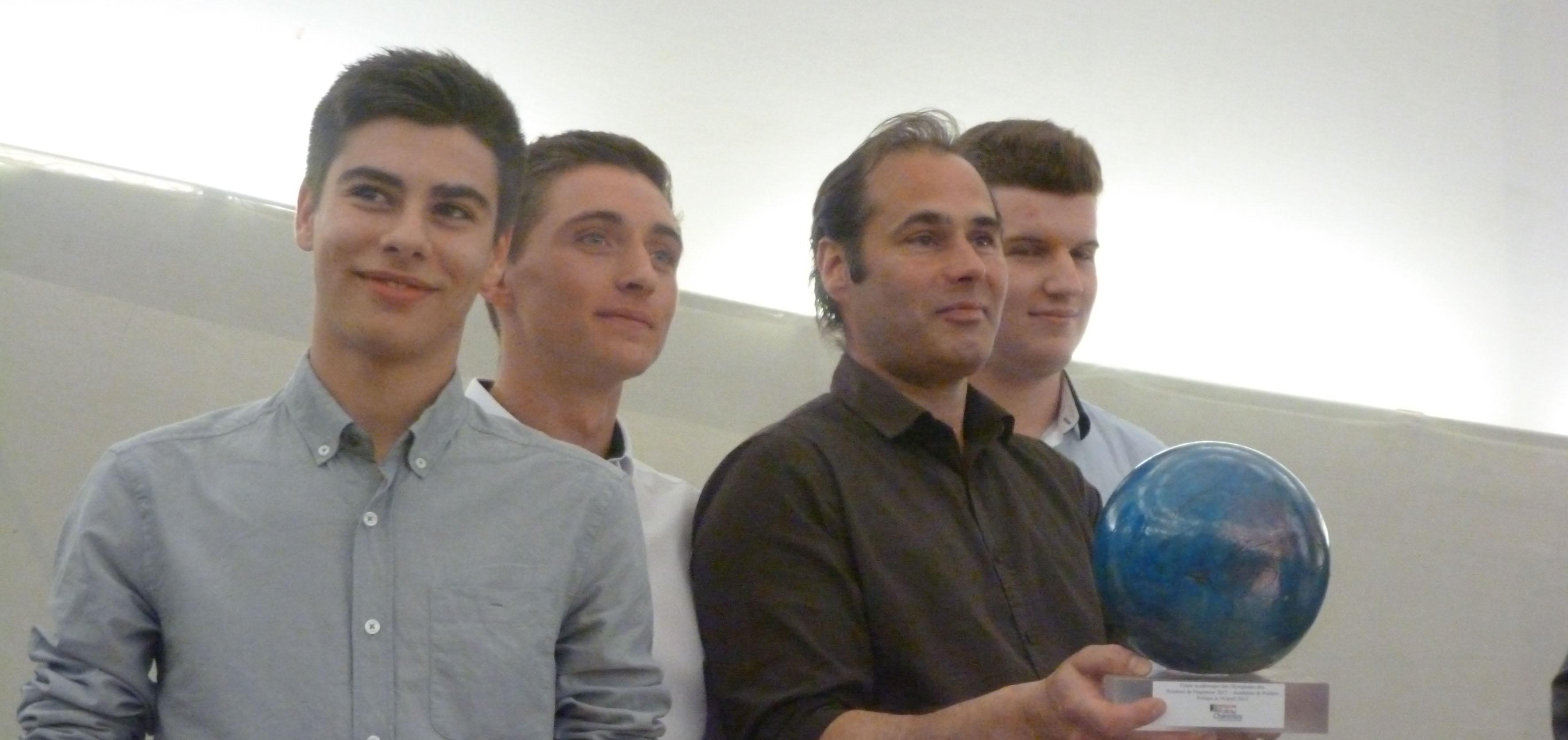 Isaac de l'Etoile remporte les Olympiades SI régionales