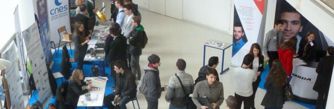 Les entreprises au rendez-vous de l'ISAE-ENSMA
