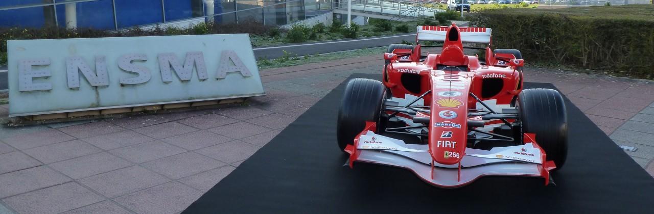 Soirée Ferrari à l'ISAE-ENSMA