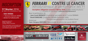 Carton Inscription Conf Ferrari