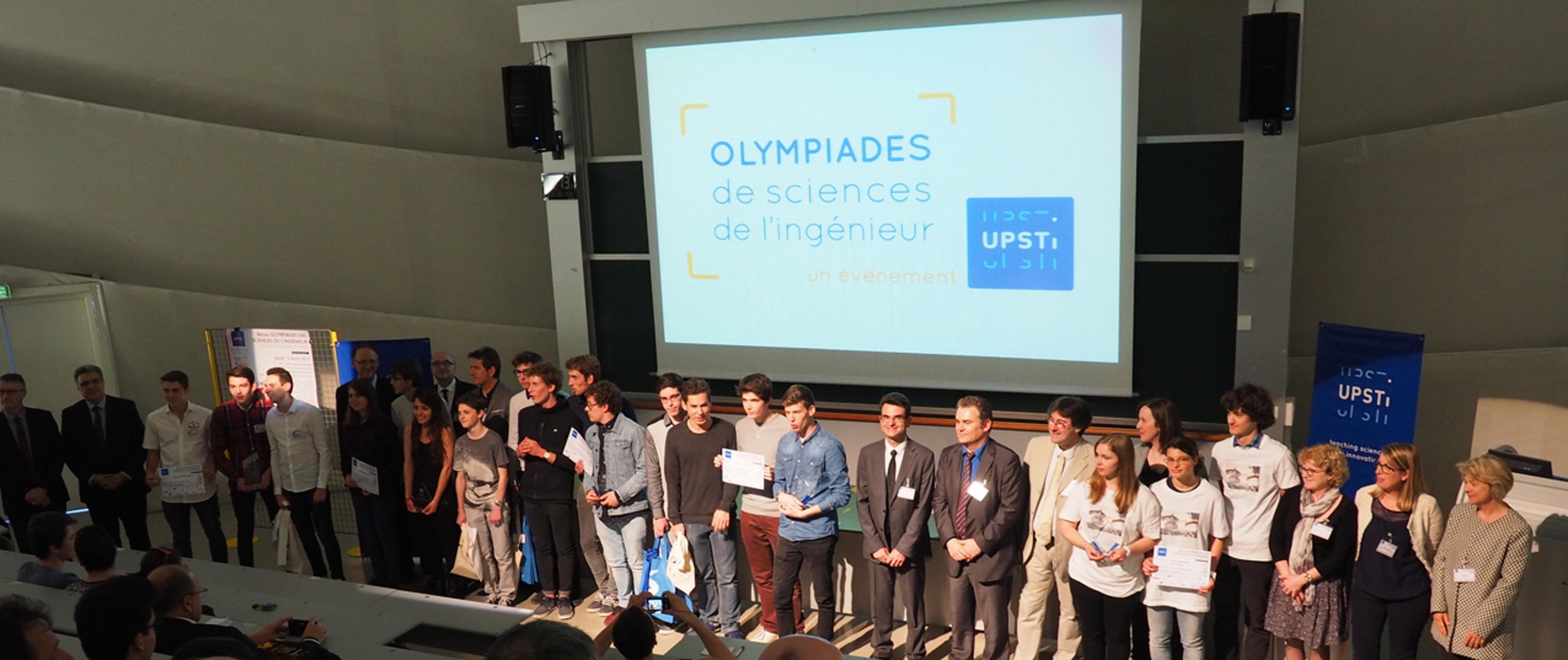 Finale académique Olympiades SI 2017