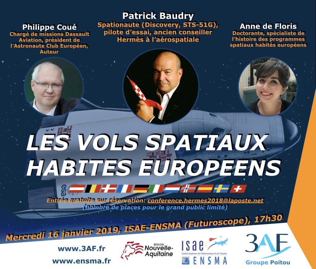 Conférence sur les vols spatiaux habités européens