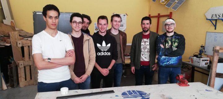 Les étudiants de l'ISAE-ENSMA primés au C'Space