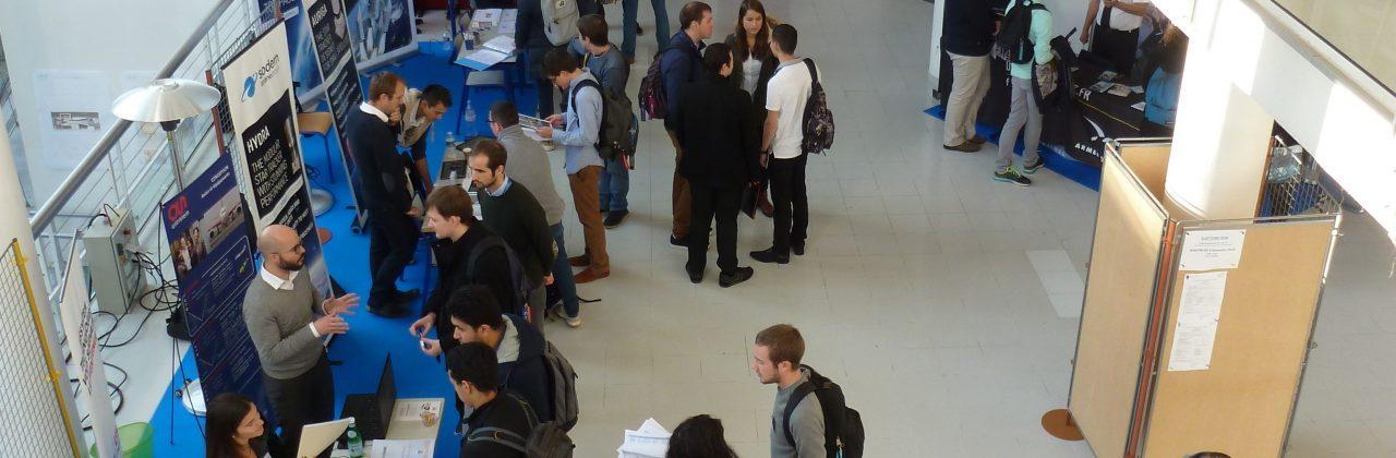 Forum entreprises : l'ISAE-ENSMA attire  toujours plus de partenaires