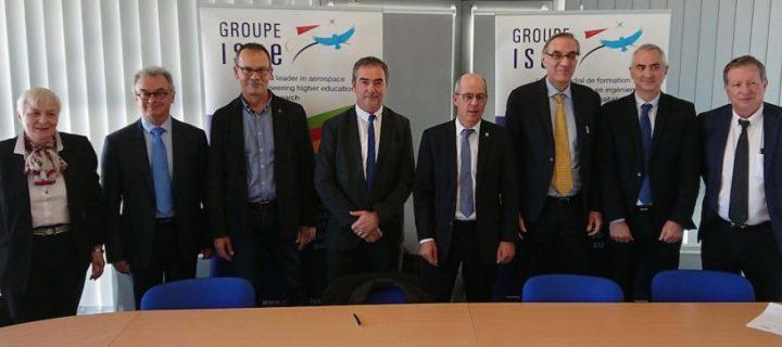 Le Groupe ISAE a deux nouvelles écoles partenaires