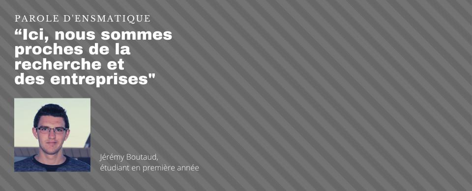 Parole d'ensmatique, Jérémy