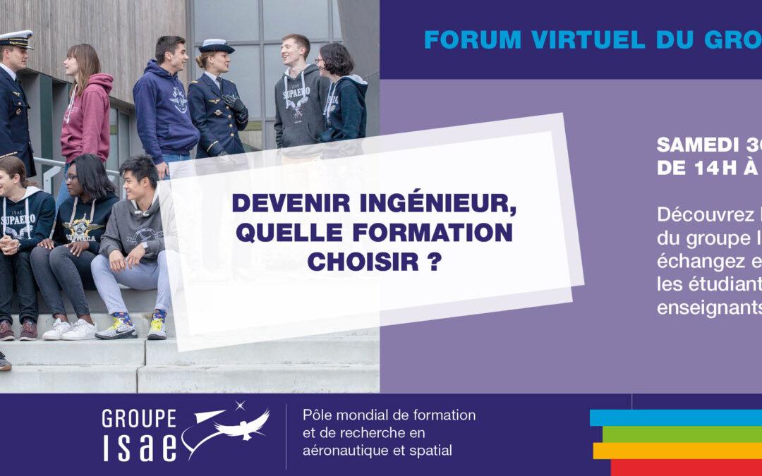 Forum virtuel Groupe ISAE