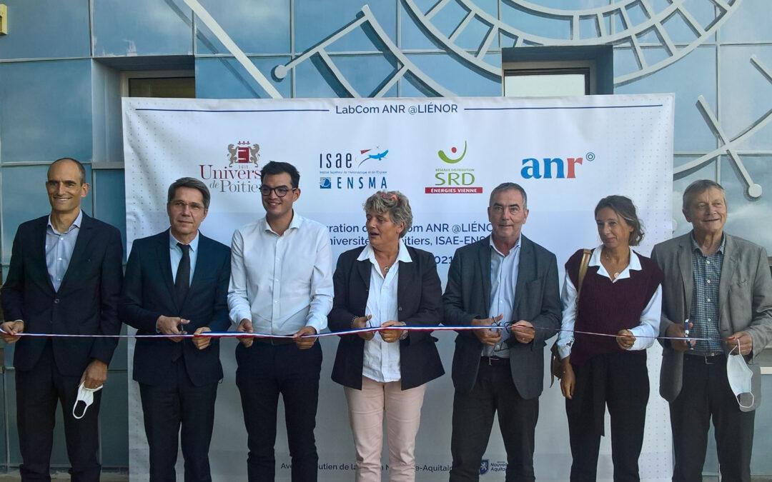 Inauguration du LabCom @LIENOR