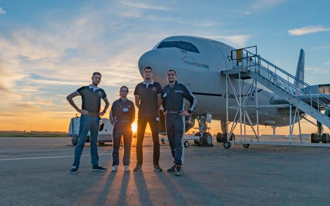 Vol parabolique pour 4 étudiants de l'ISAE-ENSMA