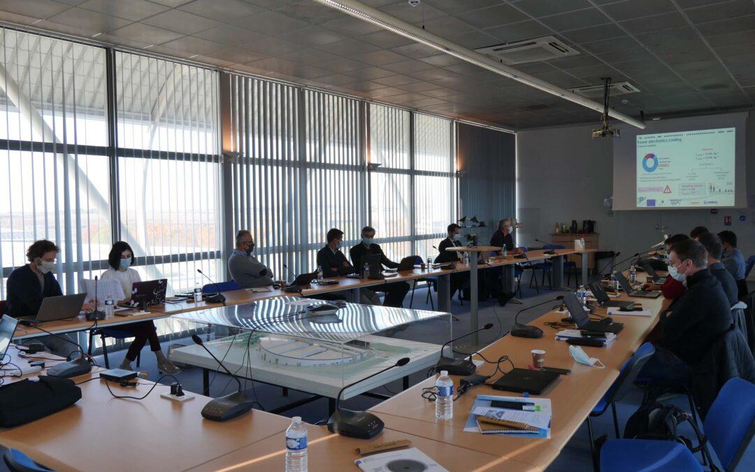 Workshop de dissémination pour le projet européen CleanSky II HASTECS à l'ISAE-ENSMA